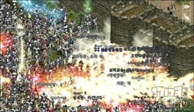 《天堂》早期游戏画面