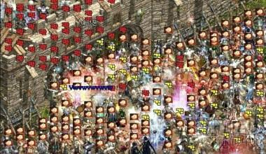 《天堂》攻城战画面